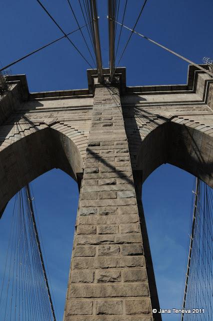 Seen on NYC Brooklyn Bridge
