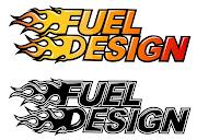 Assim como no logo de Speed Racer (desenho animado) temos as duas palavras . (fuel)