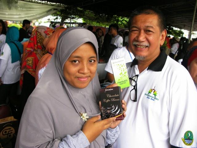 Cokelat Green Tea dan Wakil Gubernur Jawa Barat, Dedi Mizwar