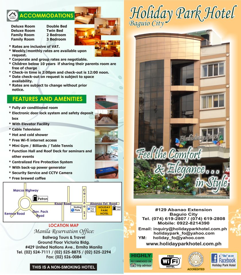 Holiday Park Hotel What S New Philippines