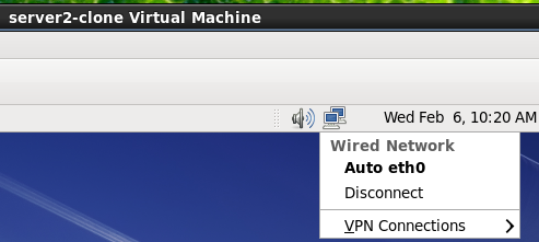 Auto eth0 on kvm cloned virtual machine