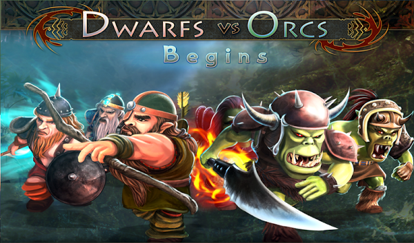 Dwarfs vs Orcs Gameplay IOS / Android