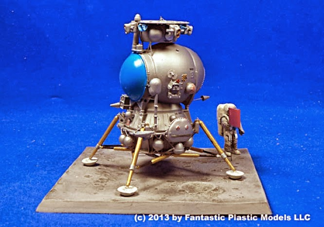 Scale Model News: INCOMING: SECRET SOVIET LUNAR SPACECRAFT ...