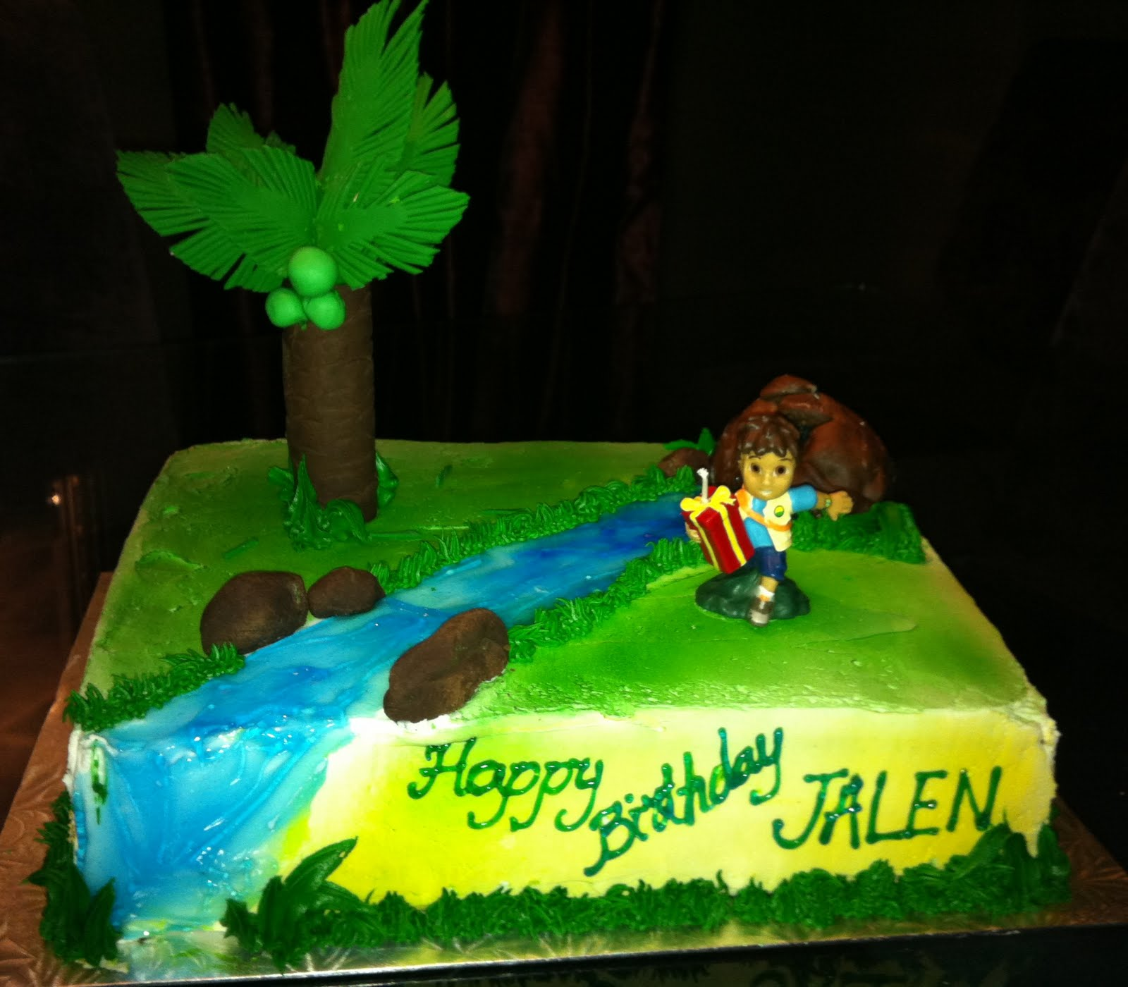 Jocelyns Wedding Cakes And More Go Diego Go Cake - Go diego go birthday cake