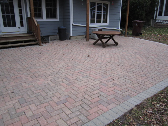 Old Brick Paver Patio And Window Wells Are Restored U0026 Redesigned