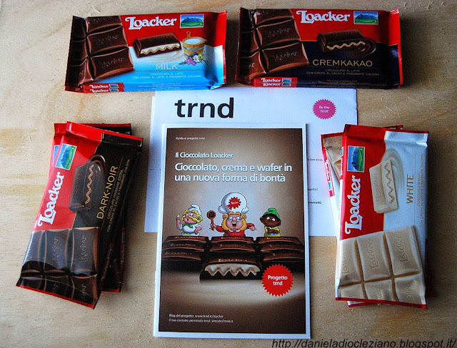 Il Cioccolato Loacker  una nuova forma di bontà.