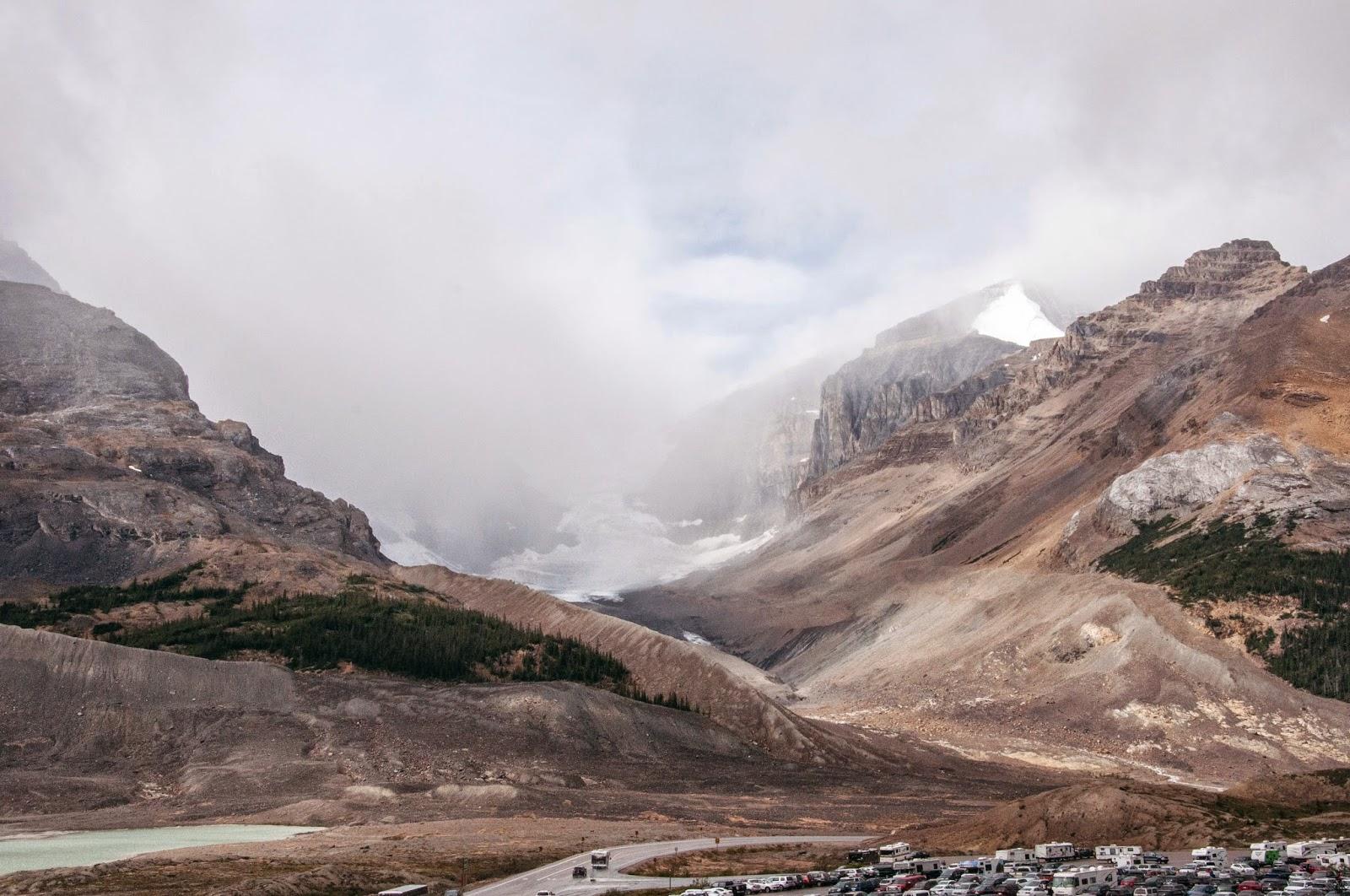 Glacier adventure in Jasper, Alberta, Canada.