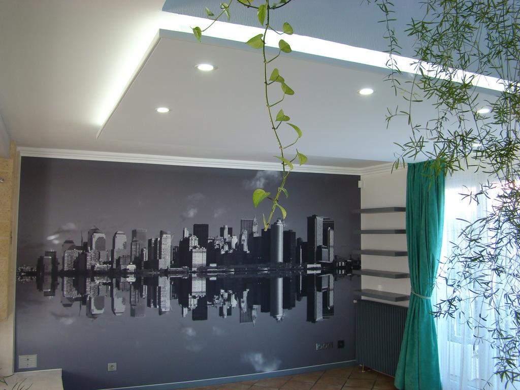 avantages et inconv nients des plafonds suspendus plafond. Black Bedroom Furniture Sets. Home Design Ideas