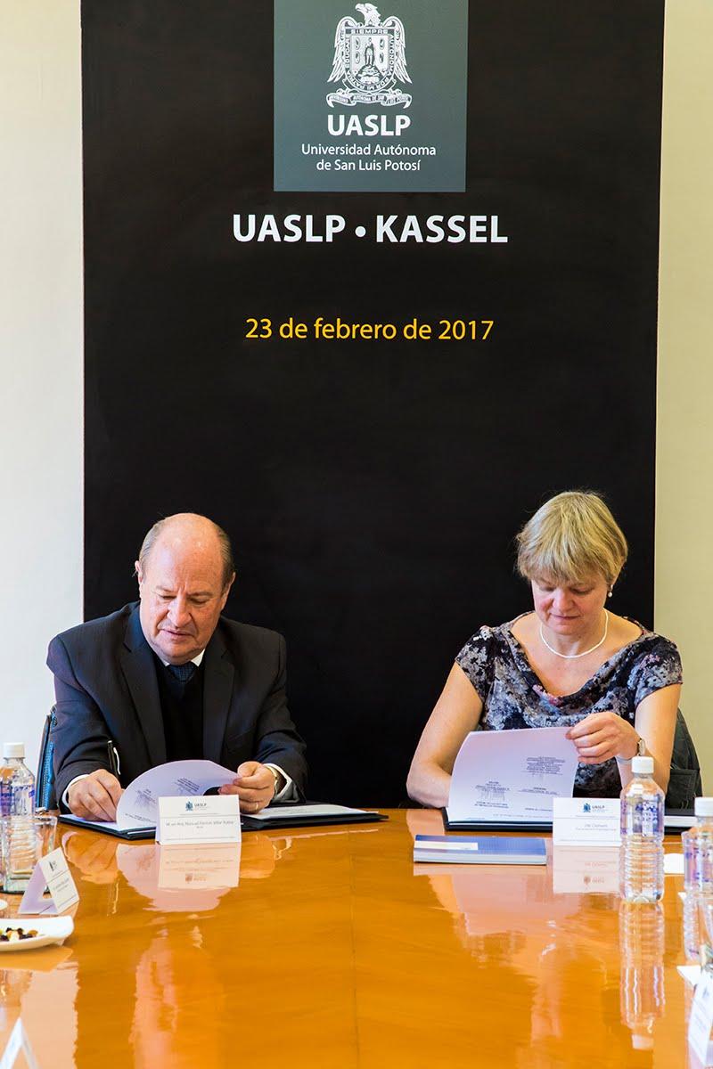 UASLP Y UNIVERSIDAD ALEMANA SE UNEN PARA DESARROLLAR PROYECTOS CIENTÍFICOS Y TECNOLÓGICOS