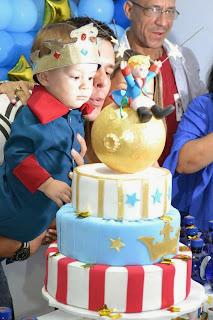 festa personalizada o pequeno principe