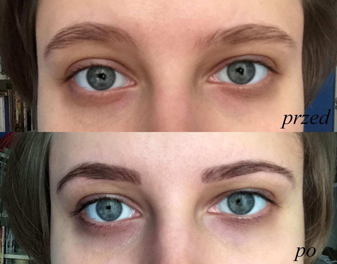 IzabelaBlog 4 Henna Na Brwi I Rzsy Warto Efekt Przed I Po
