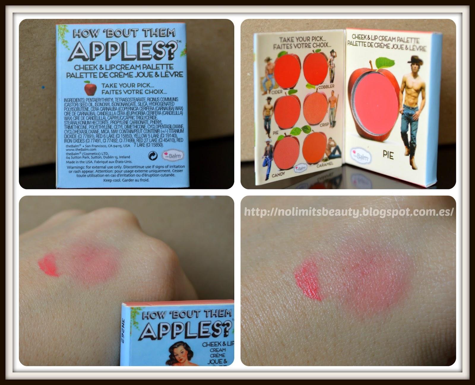 BirchBox Abril 2014 - Cheek & Lip Cream de The Balm (swatches)