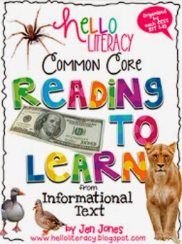 http://www.teacherspayteachers.com/Product/Common-Core-RIT-Comprehension-Strategy-Sheets-for-K-2-Informational-Reading-680337