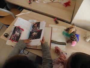 création d'un livre par élève