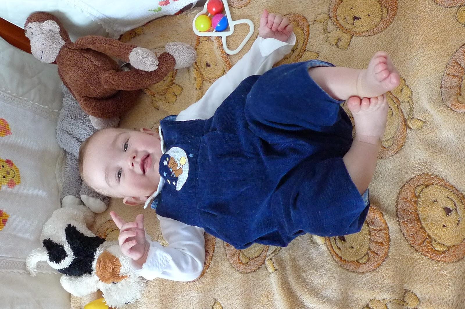 Mam już ponad 7 miesięcy!/I am 7 month old!
