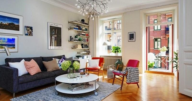Dise o de interiores arquitectura apartamento for Diseno escandinavo interiores