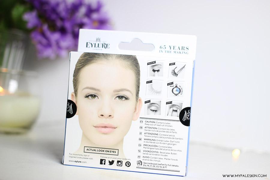eylure texture 154 review, eylure false lashes review, fake eyelashes, eylure review, my pale skin