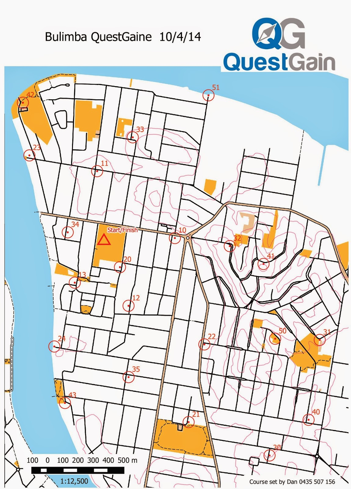 what to expect week 2 bulimba map and clue sheet