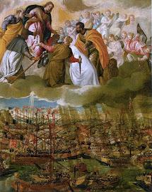 """BATALLA DE LEPANTO (07 de Octubre de 1571) IMPERIO OTOMANO Vs COALICIÓN CRISTIANA """"LIGA SANTA""""."""