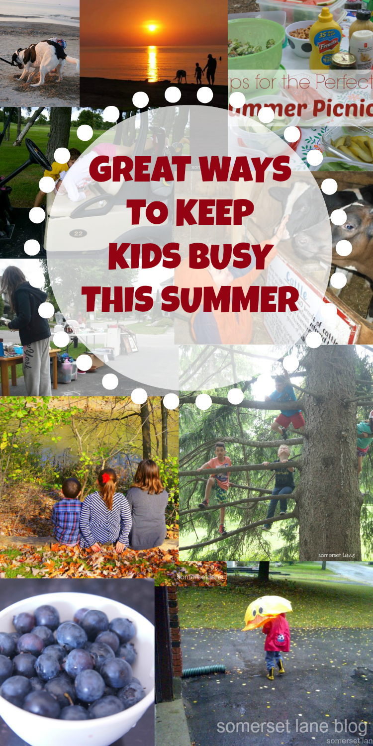 great ideas to keep kids busy this summer, ways to make it a memorable summer
