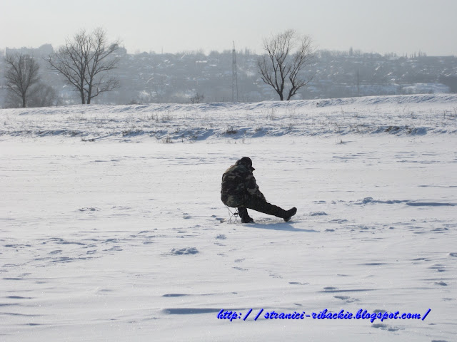 рыбалка со льда