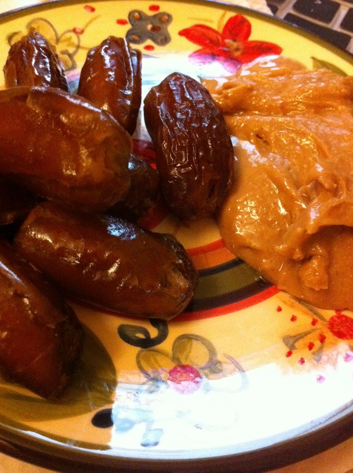 dessert   dates and peanut