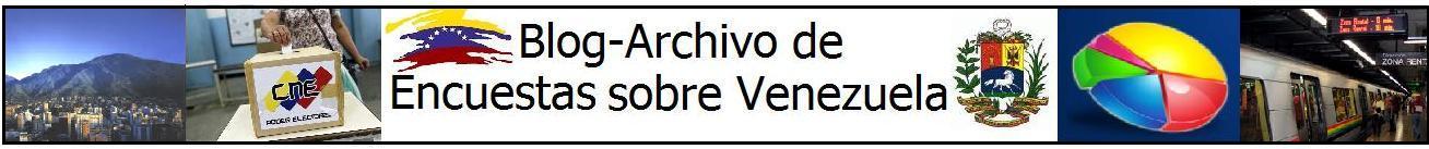 Blog-Archivo de Encuestas sobre Venezuela