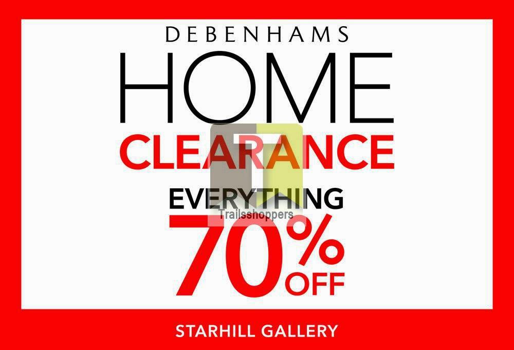 Debenhams Home Clearance Starhill Kuala Lumpur Malaysia