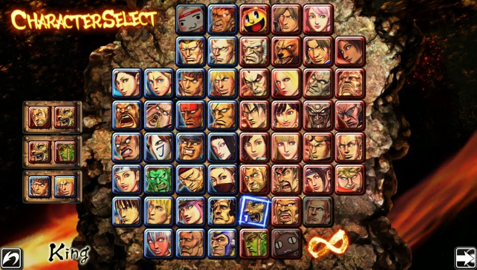 personnages Street Fighter X Tekken