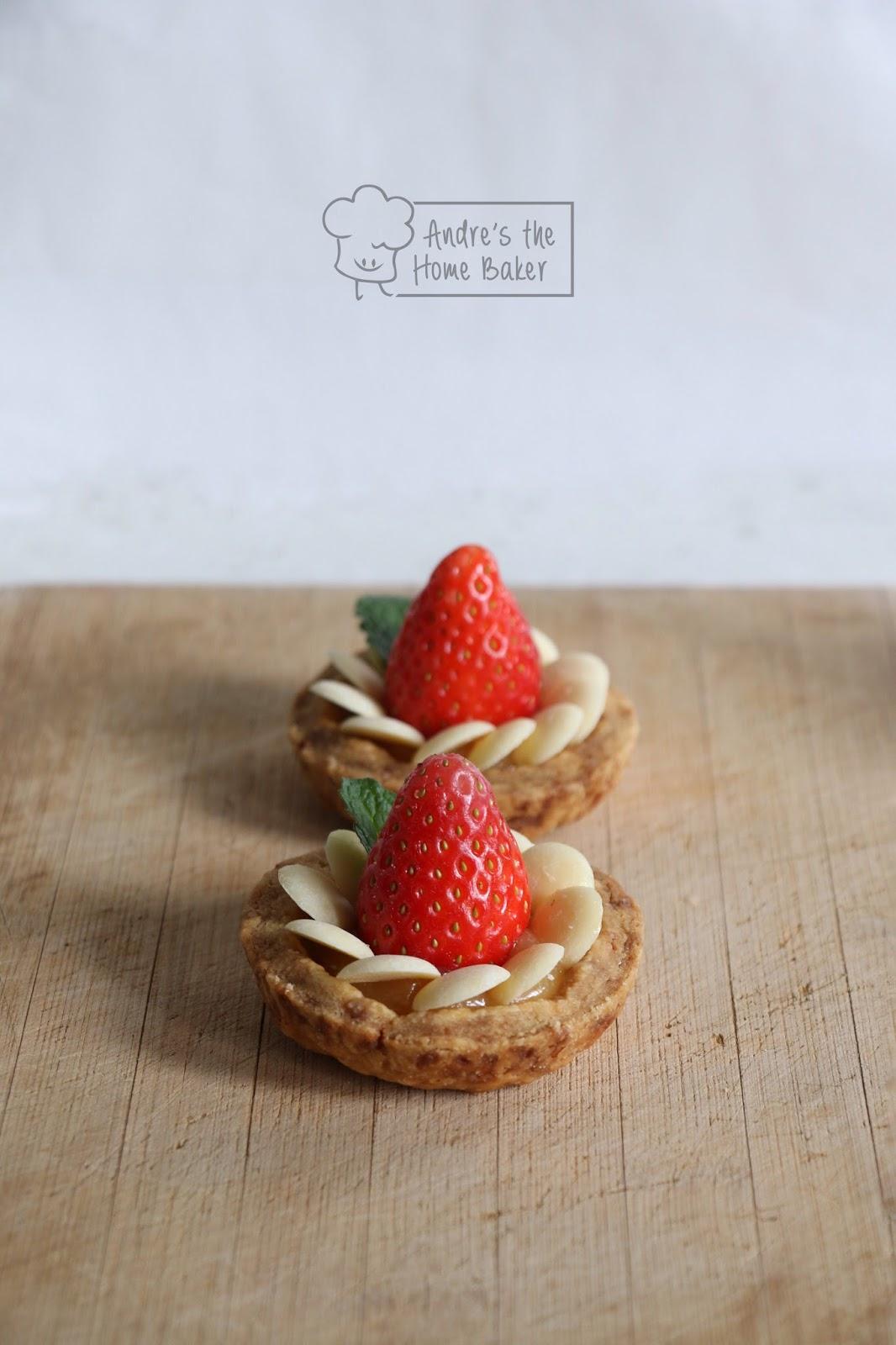 Andre's the Home Baker: ♥ Strawberry Lemonade Tart