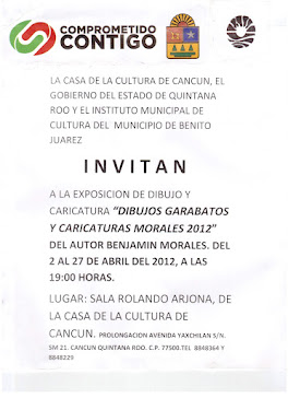 "EXPOSICION ""MORALES 2012"""