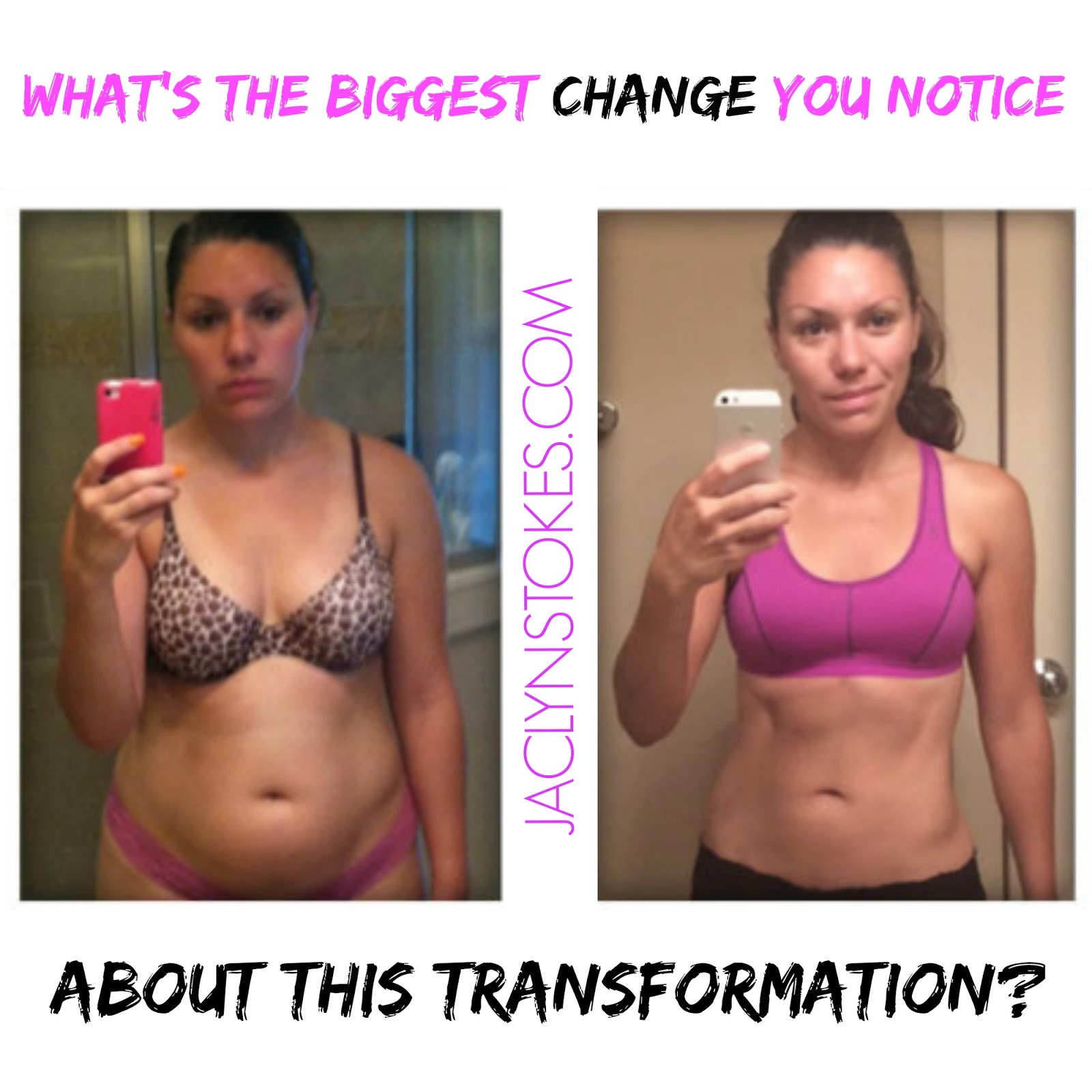 beachbody shakeology before after results transformation pic