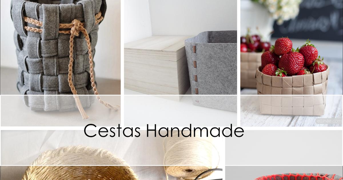 Decoraci n f cil cestas handmade low cost for Cestas decoracion