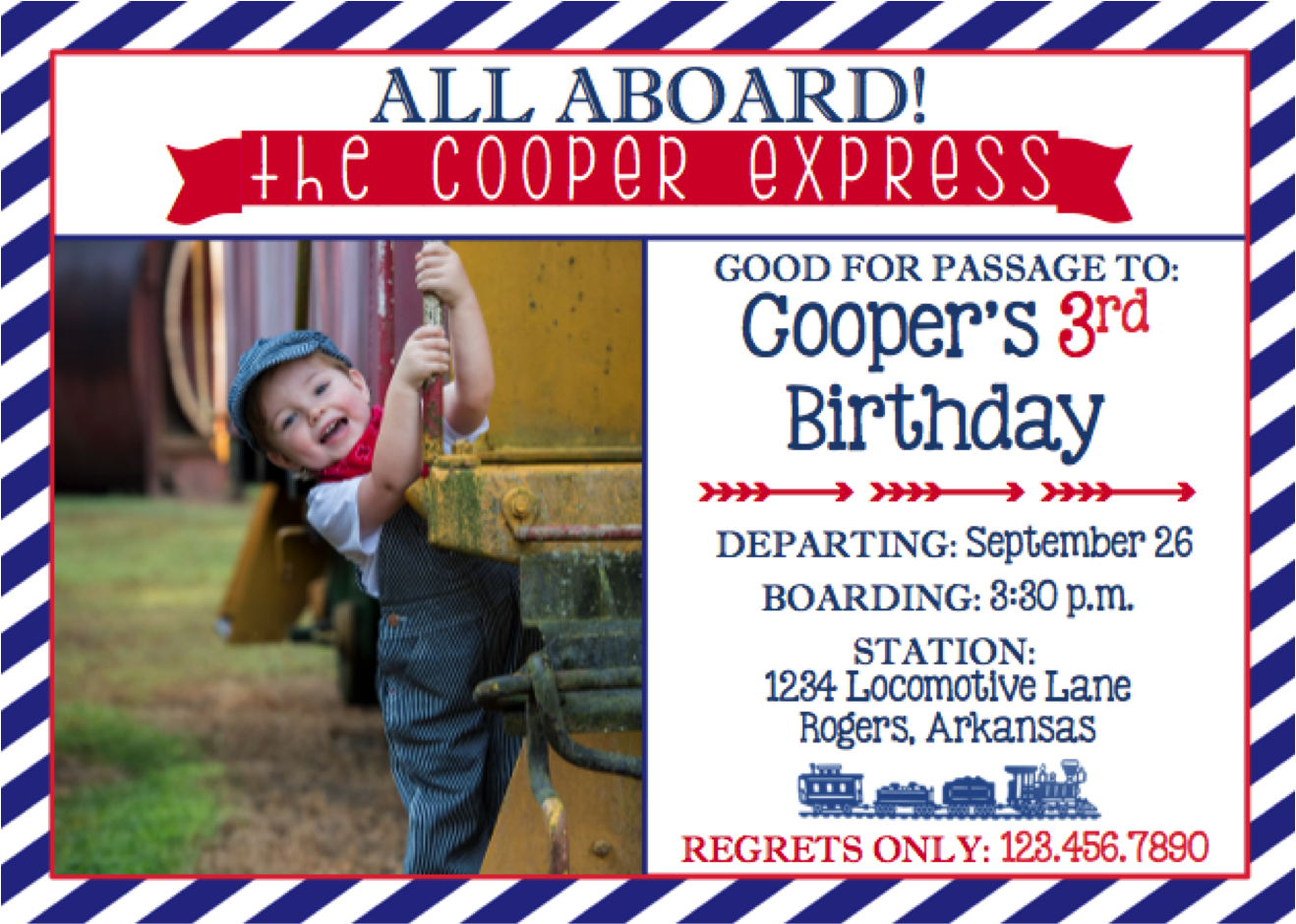 Our Little Boy Loves Trains More Than Peanut Butter Jelly So It Was Only Fitting That We Celebrate With A Vintage Birthday Party