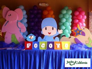 Fiestas Infantiles Decoradas con Pocoyo