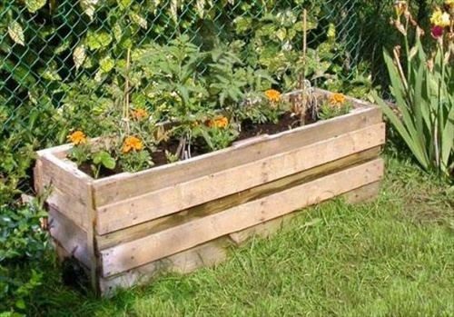 How To Make A Raised Bed Out Of Pallets | Apps Directories