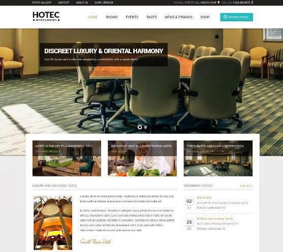 Hotec - Responsive Hotel WP Theme