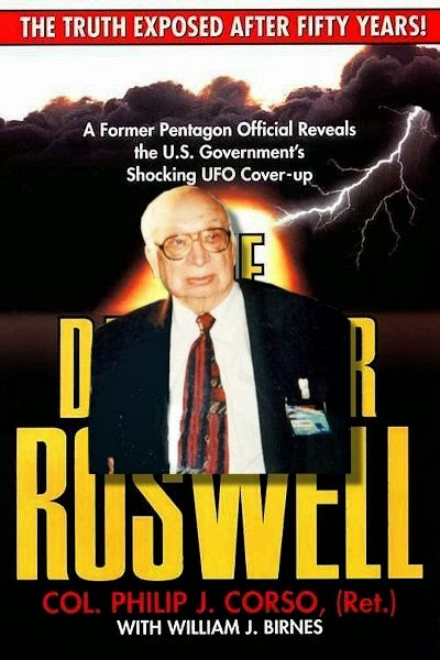 The Day After Roswell with Corso on Cover