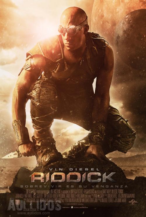 Riddick: 2º Tráiler y poster en castellano + nueva fecha