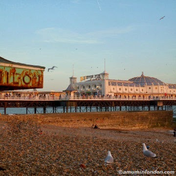 Brighton Pier, A Mum in London