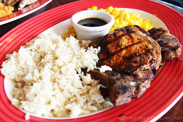 Jack Daniel's Pork Chops at TGIF