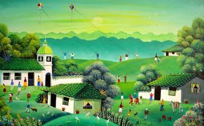 Pintura Naif de Colombia