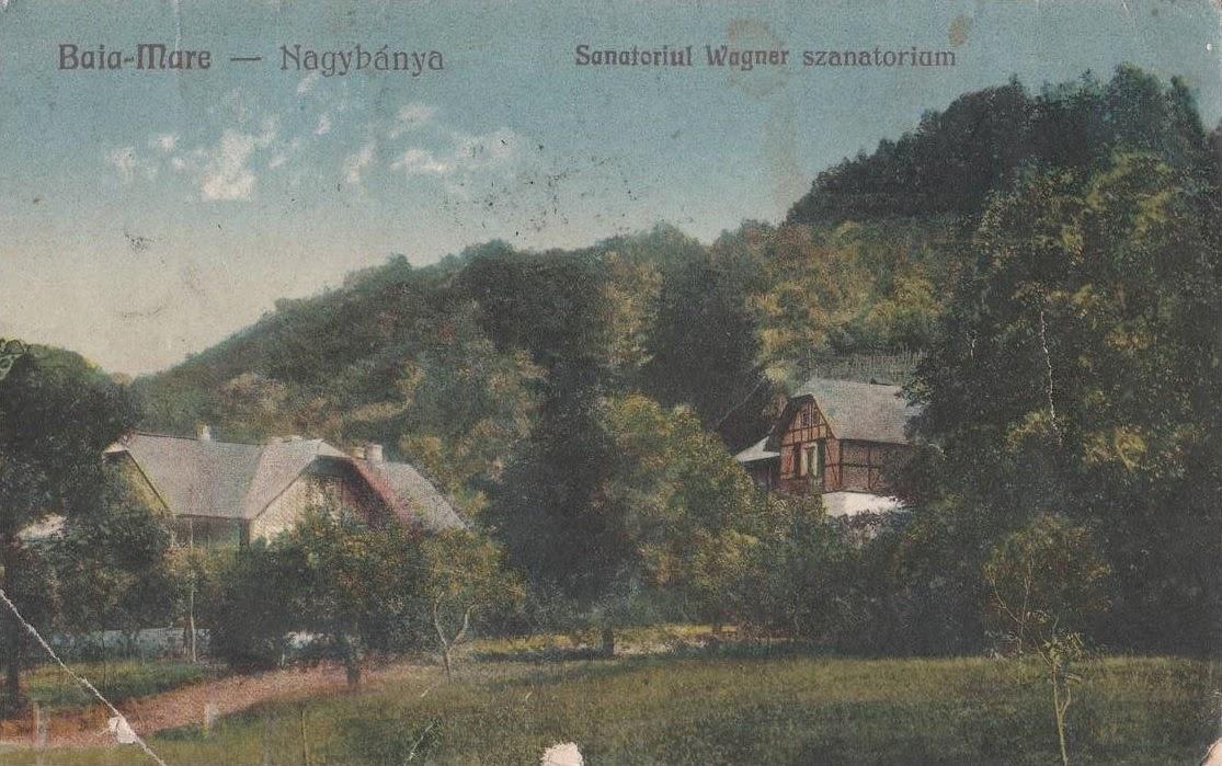 Sanatoriul Wagner din Baia Mare de altadata
