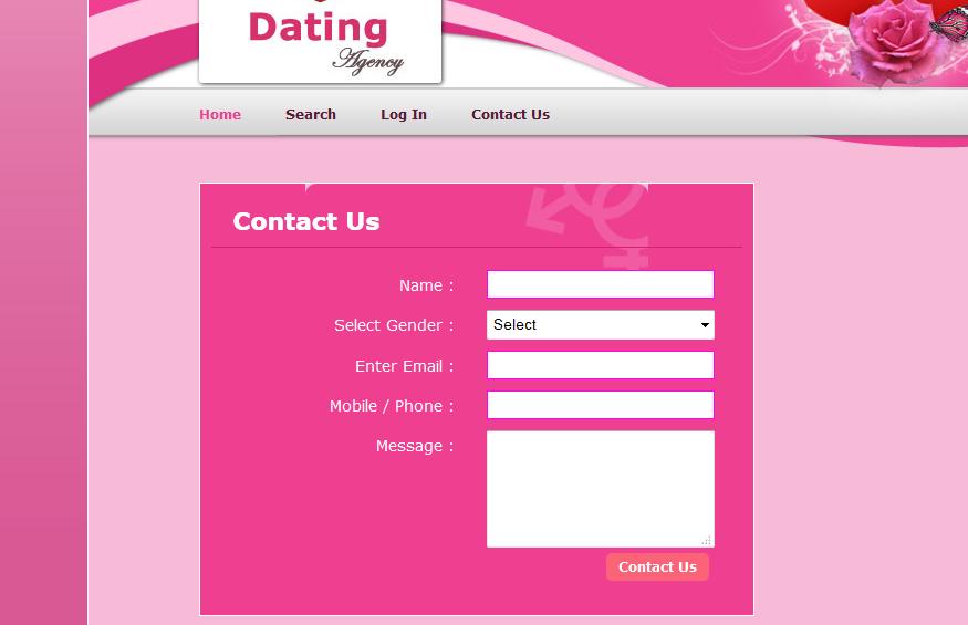 Dating website codeigniter