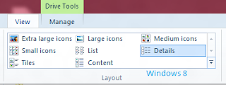 Windows 8 folder layout