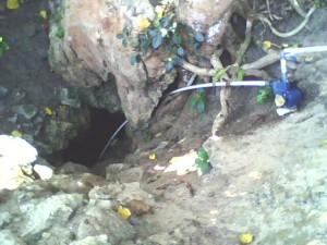 Tuk mata air yang ada disebutkan dibawah pohon Ambal