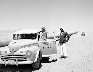 بدايه اكتشافات البترول في الجزيره العربيه 1950.jpg