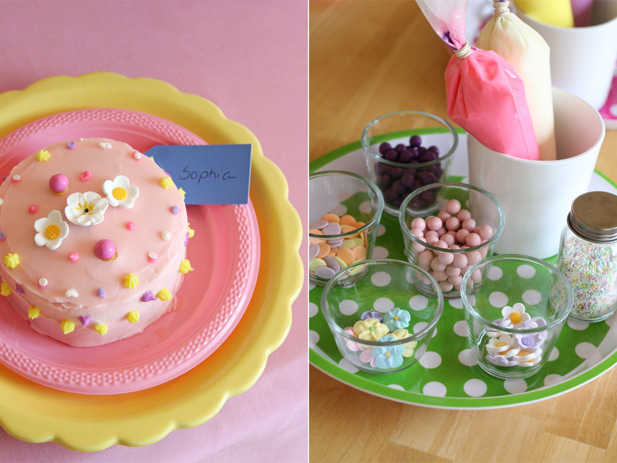 Cake Decorations And Ideas : Grace s Cake Decorating Party   Glorious Treats