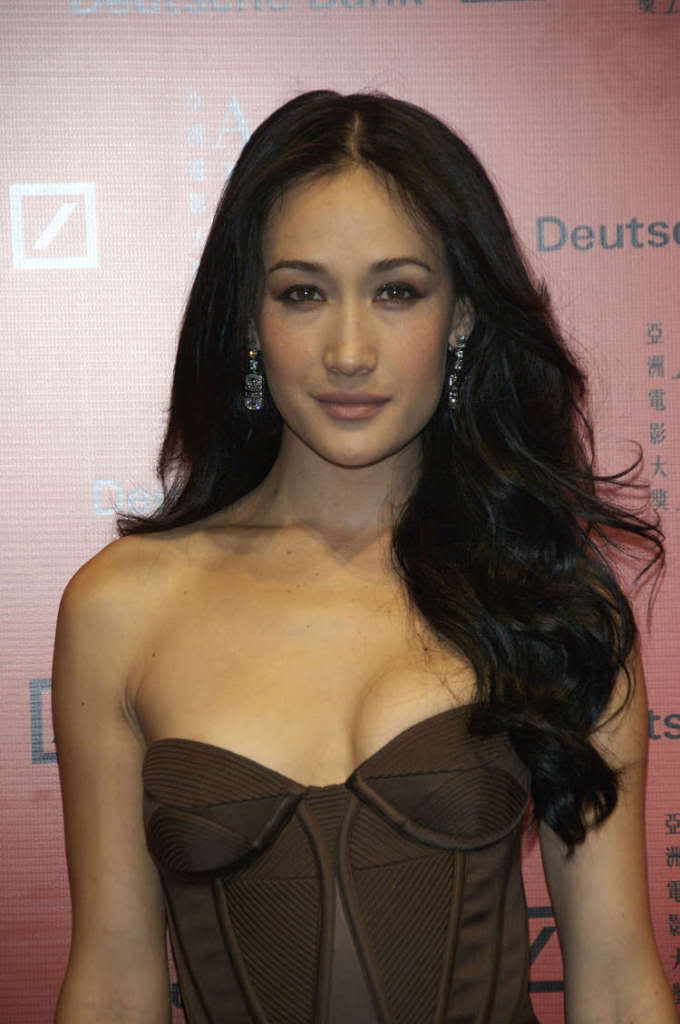Maggie Q - Wallpaper