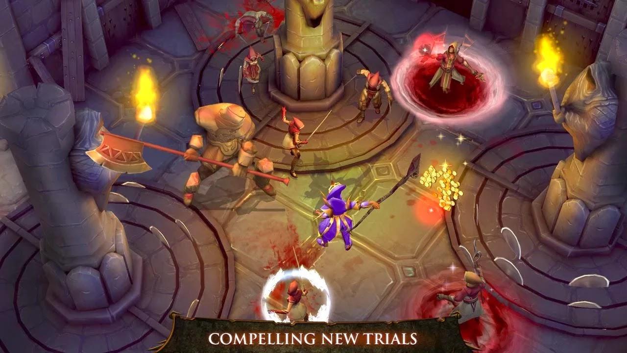 Dungeon Hunter 4 v1.6.0m Mod [Unlimited Gold & Gems]